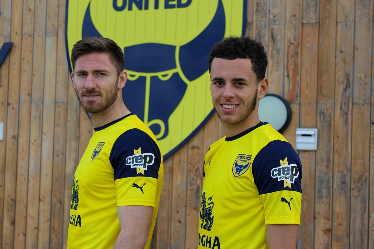 Crep Protect x Oxford United James Henry Nathan Holland
