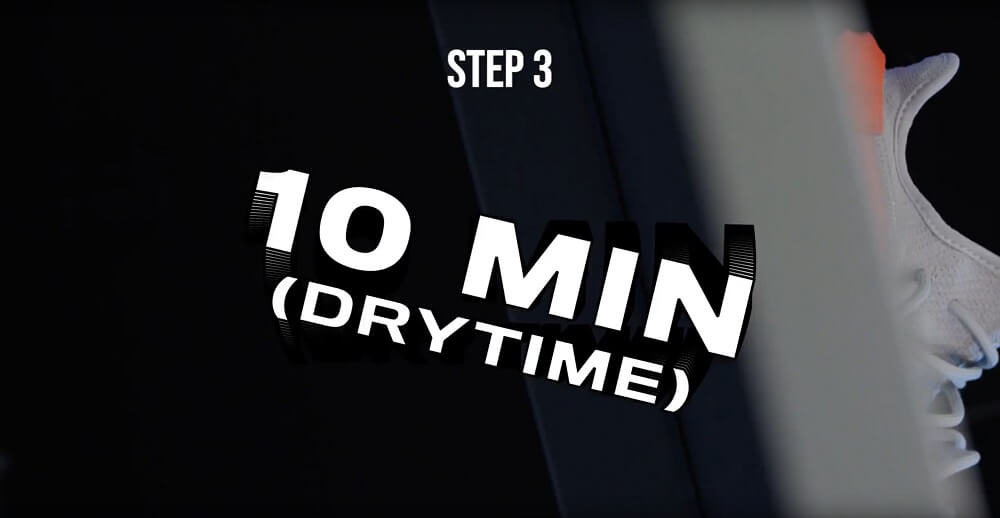 Crep Protect How to Use Crep Protect Spray 10 minute Dry Time